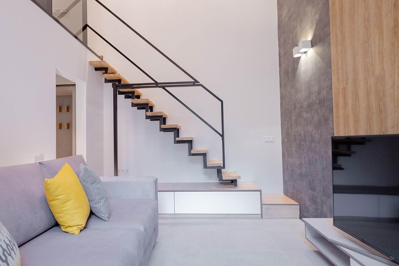 Апартаменти Класик з балконом - Duke Apartments. Оренда подобово. Без агентських комісій.