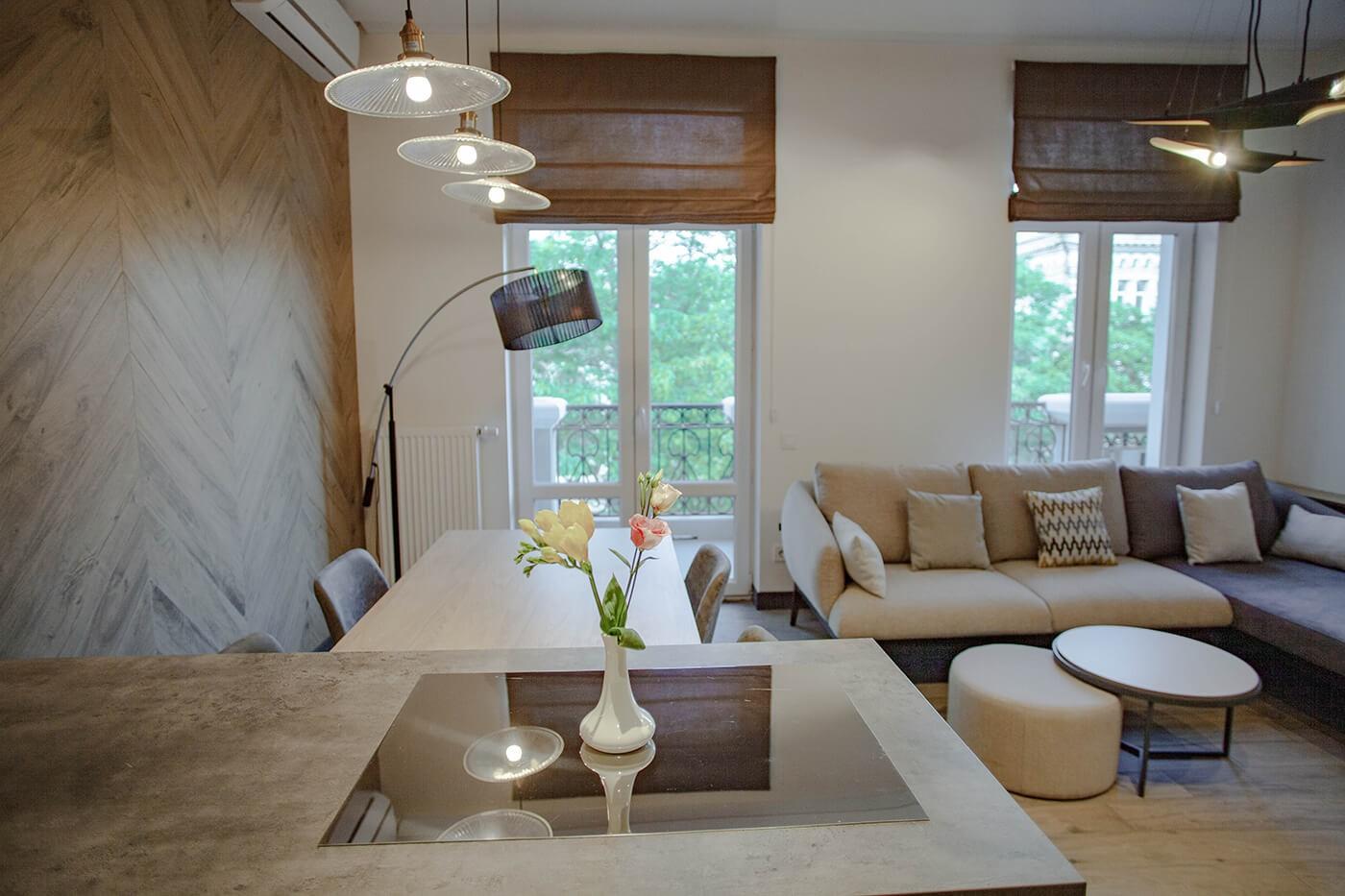 Двокімнатні Апартаменти з балконом - Duke Apartments. Широкий вибір квартир. Подобово.