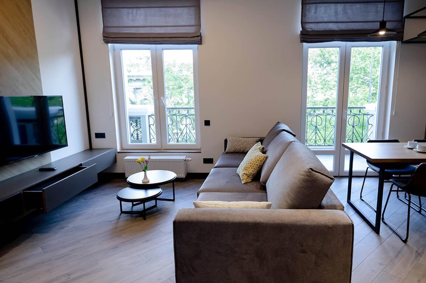 Двокімнатні Апартаменти з балконом - Duke Apartments. Без агентських комісій.
