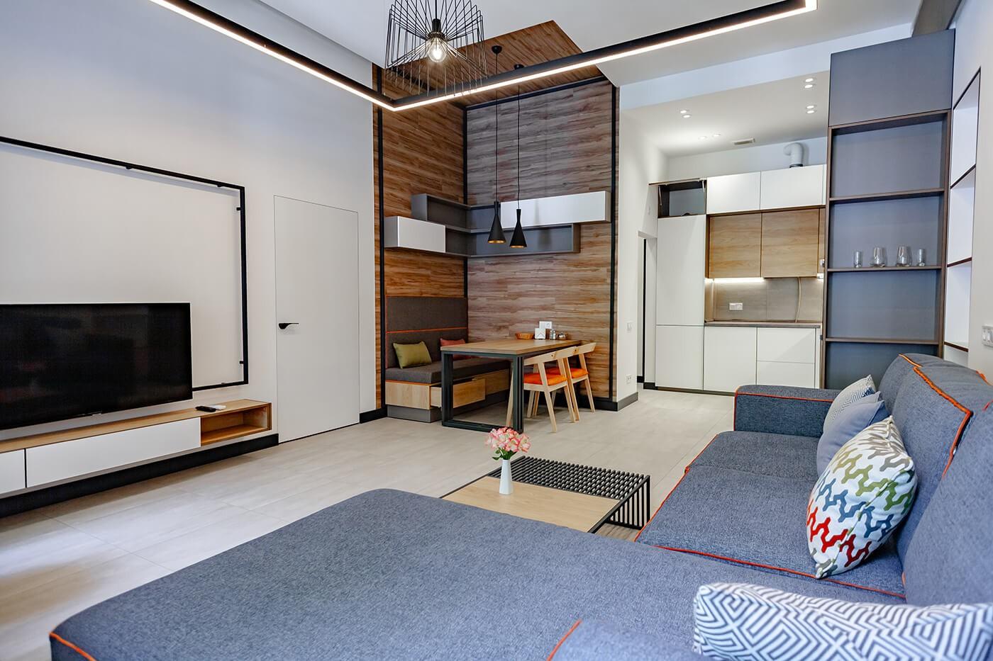 Двокімнатні апартаменти - Duke Apartments. Широкий вибір квартир. Оренда подобово.